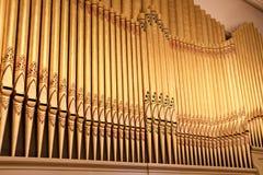 Tubos de órgano fotografía de archivo libre de regalías