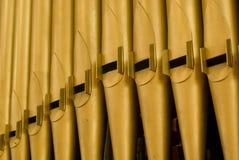 Tubos de órgano Imagen de archivo libre de regalías