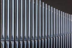 Tubos de órgano Foto de archivo libre de regalías