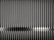 Tubos de órgano brillantes Fotos de archivo