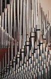 Tubos de órgano de tubo Imágenes de archivo libres de regalías