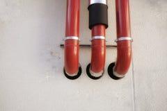 Tubos de aço fora Fotografia de Stock