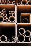 Tubos de acero imagenes de archivo