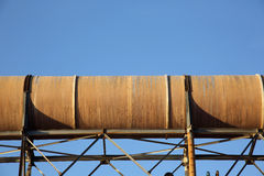 Tubos de acero Fotografía de archivo libre de regalías