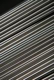 Tubos de acero brillantes imágenes de archivo libres de regalías