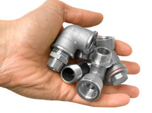 Tubos de agua Imagen de archivo libre de regalías