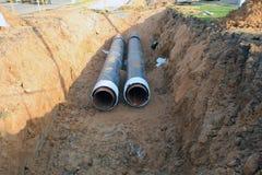 Tubos de agua Foto de archivo