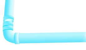 Tubos de agua Imágenes de archivo libres de regalías