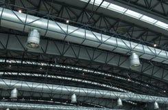Tubos de aire Imagenes de archivo