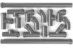 Tubos de alcantarilla Imagen de archivo