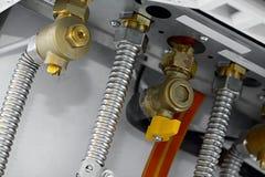 Tubos de calefacción Imagenes de archivo