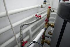 Tubos de calefacción Foto de archivo