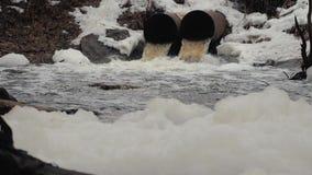 Tubos de desagüe, contaminación ambiental Protección contra inundaciones del alcantarillado Protecci?n del medio ambiente metrajes