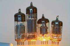 Tubos de electrón Fotos de archivo