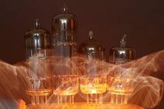 Tubos de electrón Fotografía de archivo libre de regalías