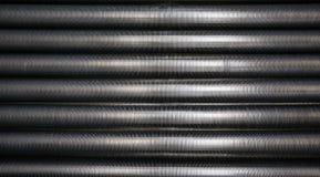Tubos de enfriamiento industriales Fotografía de archivo libre de regalías