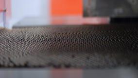 Tubos de ensaio médicos múltiplos na linha de produção Fabricação farmacêutica da fábrica filme