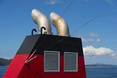 Tubos de escape Foto de archivo libre de regalías