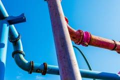 Tubos de gas Imagen de archivo