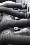 Tubos de goma Fotografía de archivo