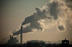 Tubos de la fábrica Fotos de archivo