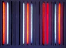 Tubos de neón Fotografía de archivo