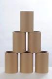 Tubos de papel Fotos de Stock