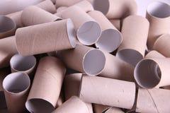 Tubos de papel fotografía de archivo libre de regalías