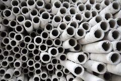 Tubos de papel industriales. Imágenes de archivo libres de regalías