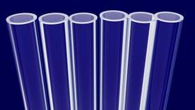 Tubos de prueba Fotos de archivo libres de regalías