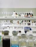Tubos de prueba en laboratorio Fotografía de archivo libre de regalías