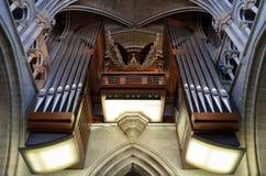 Tubos de órgano Foto de archivo