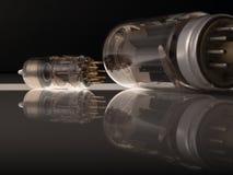 Tubos de vacío Imagen de archivo