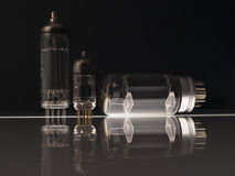 Tubos de vacío Imagen de archivo libre de regalías