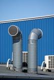 Tubos de ventilación Foto de archivo