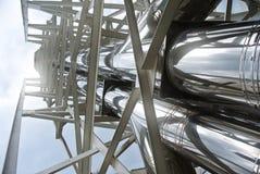 Tubos del abastecimiento de agua del metal Fotos de archivo