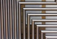 tubos del acero inoxidable fotos de archivo