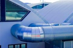 Tubos del acondicionador Foto de archivo