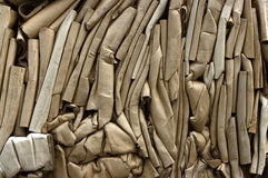 Tubos del cartón Fotografía de archivo