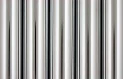 Tubos del cromo Foto de archivo