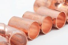 Tubos del fabricante de vinos Foto de archivo libre de regalías