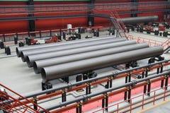 tubos del Grande-diámetro para el gas natural Fotografía de archivo libre de regalías