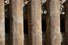 Tubos del hierro Foto de archivo libre de regalías