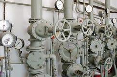 Tubos del hierro para el abastecimiento de agua Foto de archivo libre de regalías