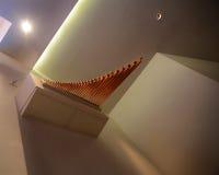 Tubos del interior y de órgano de la iglesia Imagen de archivo libre de regalías