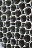 Tubos del metal imagenes de archivo