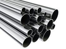 Tubos del metal Imagen de archivo libre de regalías