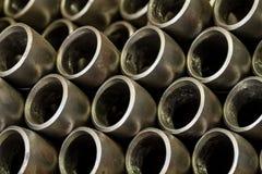 Tubos del metal Fotografía de archivo