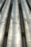 Tubos del metal Imágenes de archivo libres de regalías