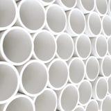 Tubos del PVC Fotos de archivo